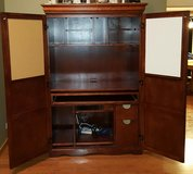 Computer Armoire Desk Hutch Workstation Cabinet in New Lenox, Illinois