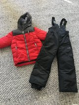 Boys winter coat and snow pants in Naperville, Illinois
