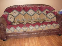 Southwestern style couch, chair & ottoman - gently used in 29 Palms, California