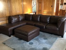 Sectional sofa with ottoman in Kingwood, Texas