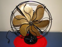 "1930 Emerson 6 Brass blade Fan 16"" in Joliet, Illinois"
