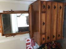 Dresser with mirror in Fort Carson, Colorado