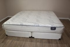 King Mattress Set (Serta-Shepard) in Spring, Texas