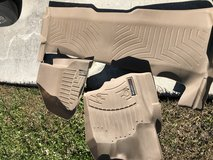 Weather tec floor mats used but in new condition in Camp Lejeune, North Carolina