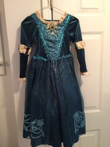 Brave Deluxe Dress Disney Authentic Costume for Girls size 5-6 in Naperville, Illinois