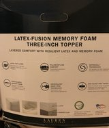 Ralph Lauren Energex Support Foam 2-inc Topper King Size in Fort Bragg, North Carolina
