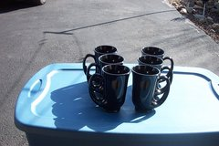 UNUSUAL SHAPPED COFFEE CUPS. 6 PCS. in Bartlett, Illinois