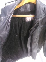 xl black leather coat in 29 Palms, California