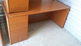 HON Pedestal Office Desk (Orig. Cost $1575) in Chicago, Illinois