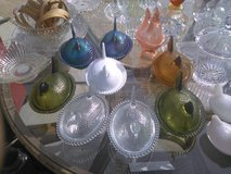 beautiful glass hens in Yucca Valley, California