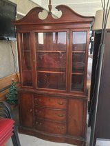 Nice Antique China Hutch/in Corona in Riverside, California