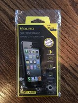 NEW Aduro Shatterguardz Tempered Glass Screen Protector iPhone 5/5S/5C in Lockport, Illinois