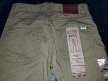 Boy's VANS Khakis/Jeans size 10 - new with tags in Travis AFB, California