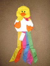WINDSPORT Windsock Windsox 1990 Easter Yellow Chick in Egg ~ VINTAGE NEW in Wheaton, Illinois