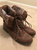 Brown Ankle Boots Size 9 in Fort Bragg, North Carolina