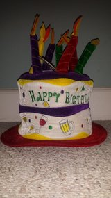 New with Tags!  Happy Birthday Hat in Wheaton, Illinois