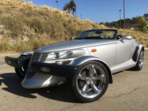 2001 Plymouth Prowler in Fort Irwin, California