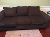 Couch, love seat, 2 chairs, framed pics & coffee tables not pictured in Warner Robins, Georgia