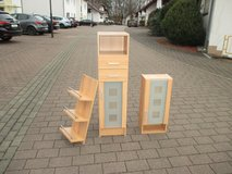 2 pcs bathroom furniture set with glass doors in Ramstein, Germany