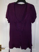 Ladies Top Size 12 by Dorothy Perkins Purple in Cambridge, UK