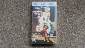 Marilyn Monroe - THE SEVEN YEAR ITCH [1955] VHS , Tom Ewell - RARE! in Lakenheath, UK