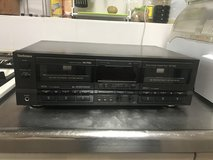 Cassette Double deck player recorder in Okinawa, Japan