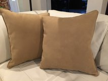 Faux Suede Pillows in Kingwood, Texas