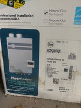 Rheem Tankless Hot Water Heater (new) in Yorkville, Illinois