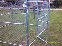 Dog Kennel,  10' x 10' chain link dog kennel in Pearland, Texas