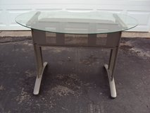 Metal, wood and glass desk in Westmont, Illinois