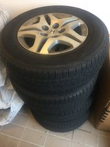 4 All weather Honda tires- almost new in Ramstein, Germany