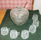 Punch Set - Lead Crystal in Grafenwoehr, GE