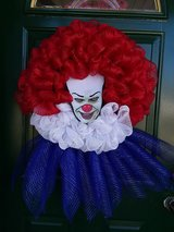 Pennywise Mesh Wreath in Bolingbrook, Illinois