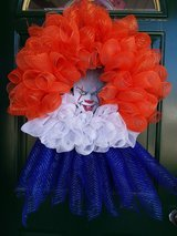 Pennywise Mesh Wreath #2 in Naperville, Illinois