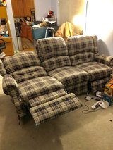 Recliner couch and loveseat in Shorewood, Illinois