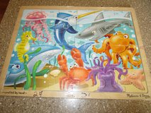 MELISSA & DOUG WOODEN PUZZLE in Lockport, Illinois
