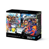 Wii U Console - Super Smash Bros And Splatoon Bundle Special Edition Deluxe Set in Oswego, Illinois