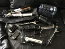 Hair Styling Lot - Instyler Rotating Iron, curlers, and more in Stuttgart, GE