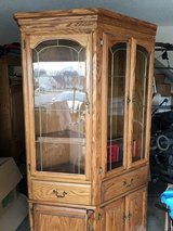 Solid oak entertainment center in Pleasant View, Tennessee