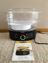 Bella 2 Tier Steamer/Rice Cooker in Shorewood, Illinois
