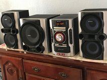 SONY MINI HI-FI SPEAKER SYSTEM MHC-GX99 3 DISC CHANGER 530W POWERED SUBWOOFER in Camp Pendleton, California