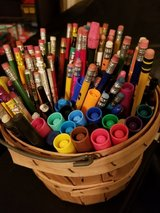 Basket Full of Pens, Pencils & Markers in Vacaville, California