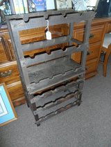 JAMES BEAM VINTAGE BOTTLE RACK (2 PIECE) in Cherry Point, North Carolina