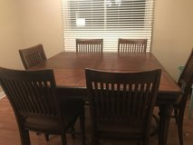 Solid Wood Table Set For 6 in St. Charles, Illinois