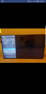 "50"" vizio smart tv no stand in Vacaville, California"