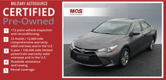 2016 Toyota Camry LE 4D Sedan $125-$160 PER PAY CHECK in Grafenwoehr, GE
