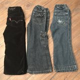 Girls size 2T/3T Levi & Wrangler jeans in Warner Robins, Georgia
