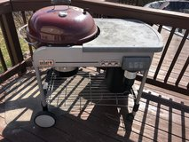 Weber Gas and charcoal grill in Lockport, Illinois