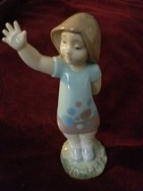 NAO by Lladro Little Bye Bye fivure in Tinley Park, Illinois