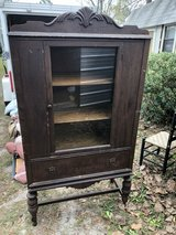 Antique China cabinet in Moody AFB, Georgia